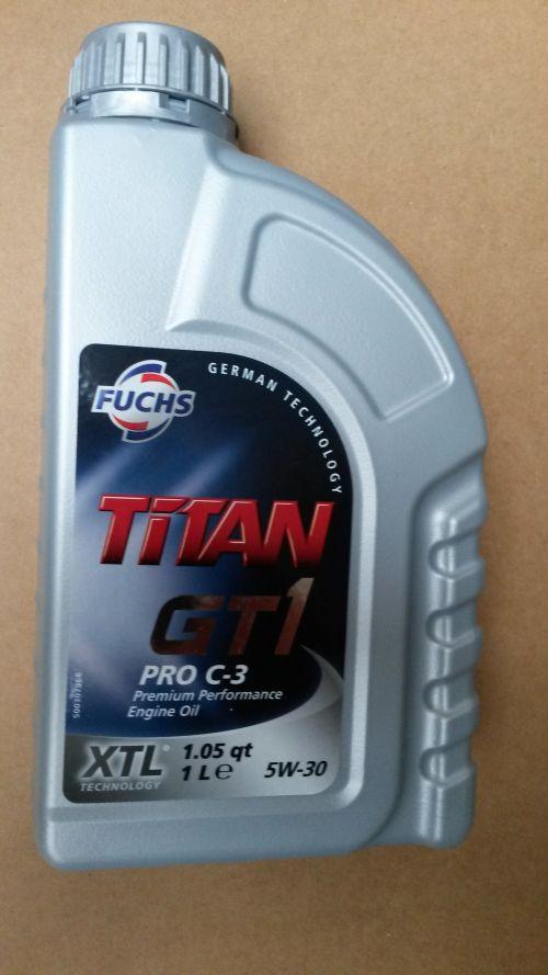 fuchs titan gt1 pro c3 5w 30 1 ltr juing oil webshop. Black Bedroom Furniture Sets. Home Design Ideas